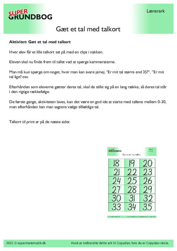Kopiark/opgave:Gæt et tal