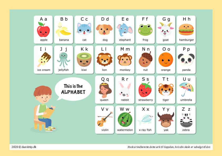Kopiark/opgave:Alfabet plakat